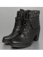 High Wool Bootie Black...