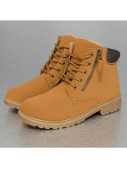 Low Basic Boots Camel...