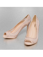 Jumex Pumps Lace Brilliant Party beige