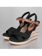 Jumex Slipper/Sandaal Summer zwart