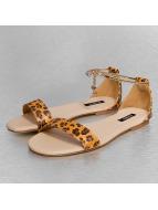 Jumex Slippers/Sandalen Chain Summer bruin