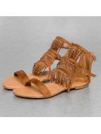 Jumex Slippers/Sandalen Summer bruin