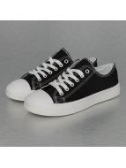 Jumex Sneaker Basic Low schwarz