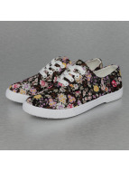 Jumex sneaker Summer Flower Low zwart
