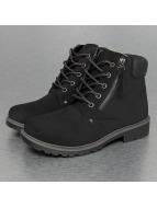Jumex Stiefel Low Basic schwarz
