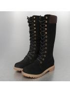 Jumex Stiefel High schwarz