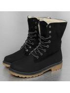 Jumex Stiefel Winter Fur schwarz