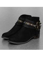 Jumex Stiefelette Chain Ethno schwarz