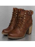 Jumex Stivaletto Wool Booties marrone