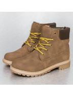 Jumex Vapaa-ajan kengät Laced khakiruskea