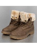 Jumex Vapaa-ajan kengät Fur Hike khakiruskea