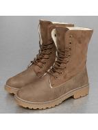 Jumex Vapaa-ajan kengät Winter Fur khakiruskea