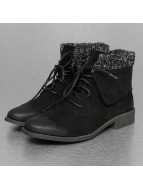 Wool Booties Black...