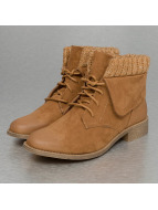 Wool Booties Camel...