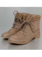 Wool Booties Khaki...