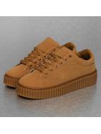Jumex Zapatillas de deporte Basic Plateau marrón