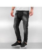 Just Rhyse Yashar Antifit Jeans Black