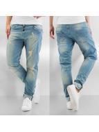 Just Rhyse Boyfriend jeans Destroyed blå