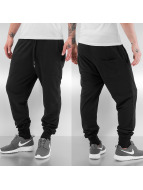 Burnout Sweat Pants Blac...
