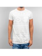 Just Rhyse Penguin T-Shirt White/Light Grey Speckled