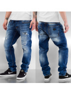 Just Rhyse Carrot jeans Rise blauw