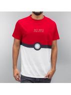 Catch Them T-Shirt Red/W...