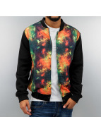 Just Rhyse College Jacke Galaxy schwarz