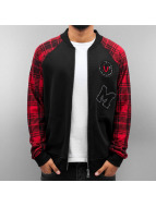 Just Rhyse College Jacke Patches schwarz