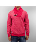 Denim Sweatshirt Red Mel...