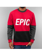 Epic Sweatshirt Red/Grey...