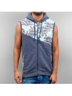 Just Rhyse Gilet Flower indaco