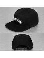 Just Rhyse Velcro Fastener Snapback Cap Black