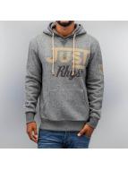 Just Rhyse Logo Hoody Grey Melange