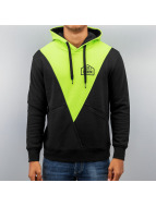 Just Rhyse Triangle Hoody Black/Green
