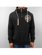 Just Rhyse Hoody Big schwarz