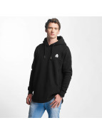 Just Rhyse Hoody Long zwart