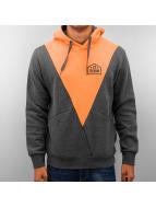 Just Rhyse Triangle Hoody Charcoal/Orange