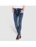 Just Rhyse Jeans de cintura alta High Waist azul