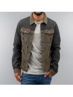 Jeans Jacket Khaki/Dark ...
