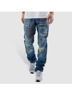 Just Rhyse Jeans Straight Fit Patch bleu