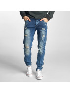 Just Rhyse Jeans Straight Fit Destroyed bleu