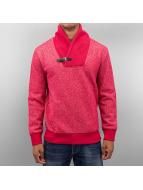 Just Rhyse Denim Sweatshirt Red Melange