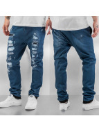 Just Rhyse joggingbroek Jeans Optics blauw