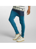 Just Rhyse joggingbroek 3 Tone blauw