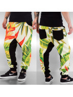 Just Rhyse joggingbroek Plant bont