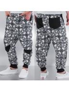 Just Rhyse Barock Sweat Pants Black/White