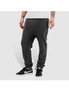 Just Rhyse Used Look Sweat Pants Black