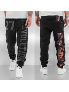 Just Rhyse Revolution Sweat Pants Black