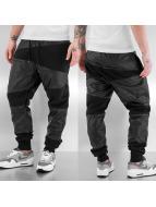 Just Rhyse PU Sweat Pants Black