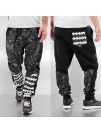 Just Rhyse Jogginghose Galaxy Stripes schwarz